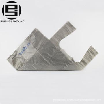 Дешевые толстые тенниски HDPE жилет ручки пластиковые пакеты