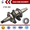 O baixo preço fornecedor ferro Forjou o eixo de manivela 170F, eixo de manivela do motor