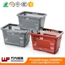 2019 china aizhou mould for fruit basket mold plastic fruits and vegetables basket/crate mould