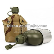 NBC Military Water Canteen Bottle with ISO standard