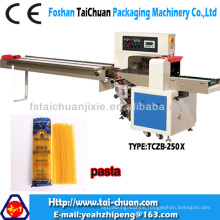 pasta stick flow pack machine down paper (upgrade version) with factory price