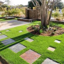 Gazon d'aménagement paysager en gazon artificiel pour parc