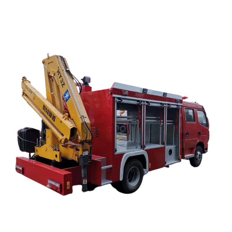 Fire Fighting Truck 2