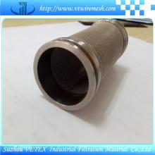 Edelstahl Ölfilter Zylinder