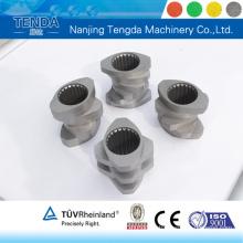Schraubenmaterial für Kunststoff-Extruder mit zwei Schrauben