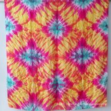 Bufandas de seda elegantes de lazo-teñido de la manera de las señoras