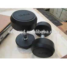 фиксированный резиновый гантелей 12.5 кг