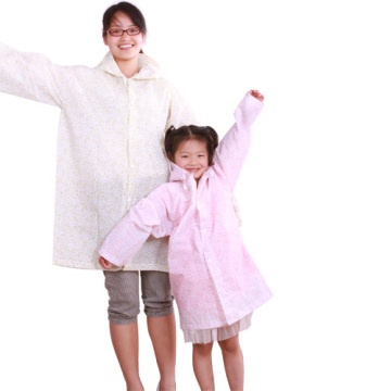 Eva raincoat for adult and children