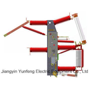 Interruptor de interrupción de carga para uso en interiores de alto voltaje de la serie 40.5kv