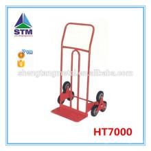 chariot de six roue montée d'escalier