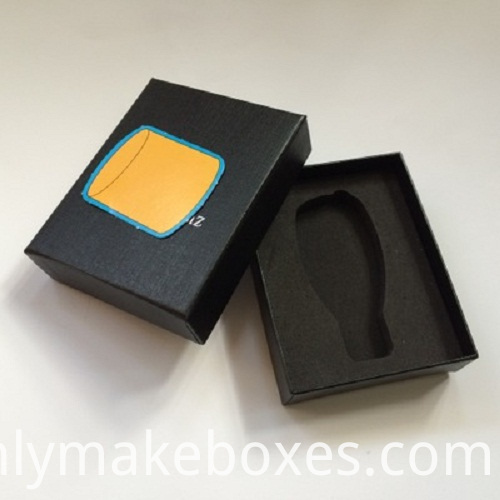 Car Key Paper Packaging Box With Eva Foam