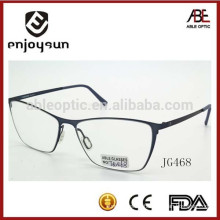 Italy design ce fashionable unisex metal optical spectacles
