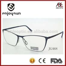 Италия дизайн ce модные унисекс металлические оптические очки