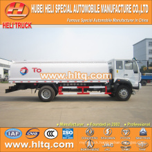 SINOTRUK HOWO 4X2 266HP 13CBM liquid chemical tanker truck hot sale low price