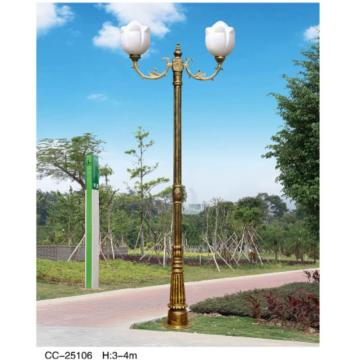 Double-Arm Garden Lamp