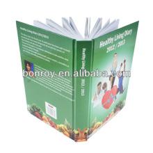 Impresión personalizada del cuaderno de la agenda de impresión 2014 de la fábrica de Guangzhou China