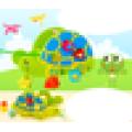 2016 Новые товары Детские игрушки раннего обучения Черепаха Форма Деревянная игрушка для продажи