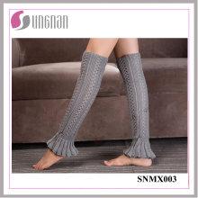 Calcetines de lana con forma de brote en Europa de 2015 calcetines de lana de punto