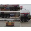 13m Tri-axle Liquefied Gas Transport Semi-trailer