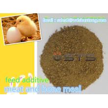 Viande de poudre de protéine et repas d'os pour le fourrage