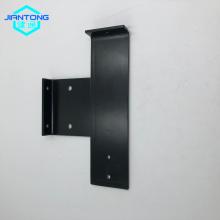 black matt powder coated steel base with bending