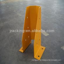 Jracking Pulverbeschichtete Palette Rack Aufrecht Protector Guard Protektoren