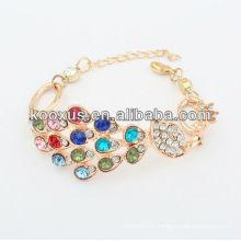 Bracelets de bijoux de mode bracelets de bracelets bracelets en alliage