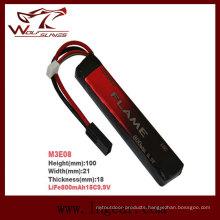 Flame LiFePO4 800mAh 9.9V 15c LiFePO4 LFP Battery