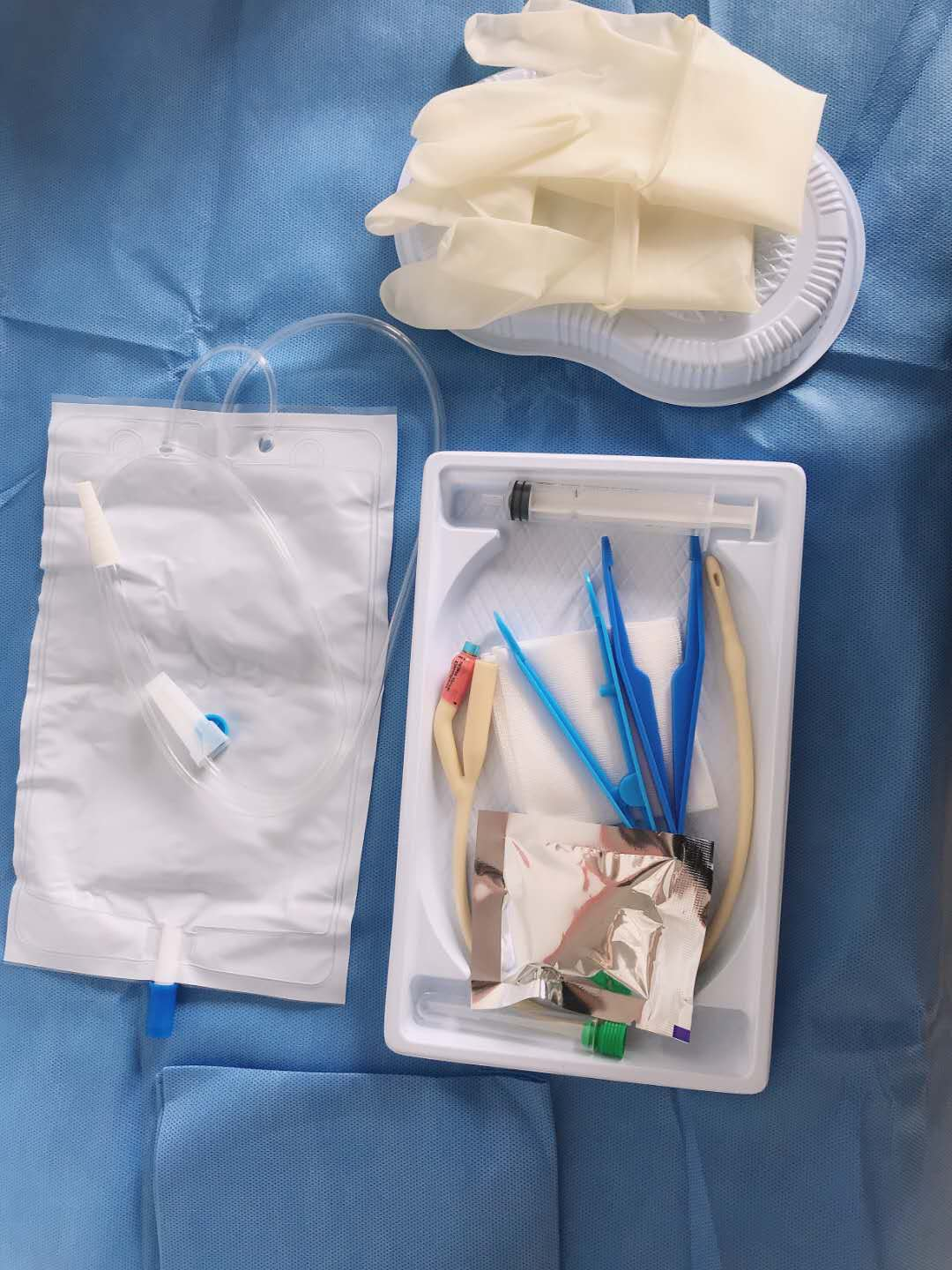 Urine Bag with Outlet Valve