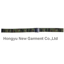 Guide PP Webbing Woolland Camouflage Belt with Alloy Buckle (HY-WB012)