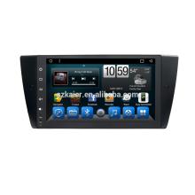 Qcta core 9inch big screen capacitive Screen for BMWe90(manual) with wifi dvd