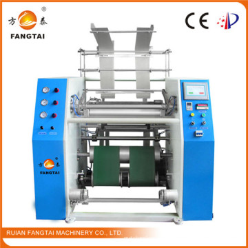 Fts-500 Auto Peinture Stretch Film Rewinding Machine (CE)