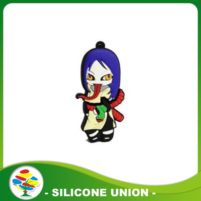 blue anime U flash disk