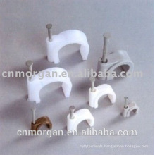 New design adhesive automotive circle cable clips