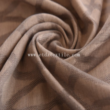 100 % polyester Jacquard lin toucher Rideau