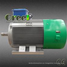 Generador de imán permanente de 50W-5MW para uso de energía hidráulica