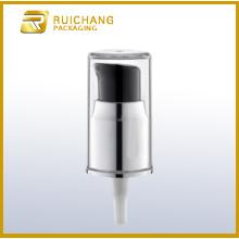 pompe en aluminium crème de 18mm avec comme coiffe