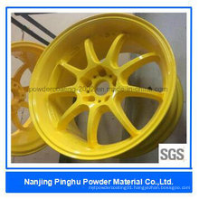 Yellow Cheap Thermoset Powder Coating and Paint