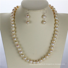 Snh White Natural Pearl Pearl Set Wholesale