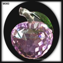 new crystal apple Christmas gift crystal