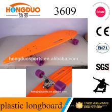 PU perfusión 70 X51mm 85A plato de plástico de la rueda bordo de mano