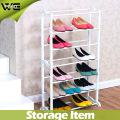 Nuevo diseño Plastic Shelf Fold Waterproof Shoe Rack