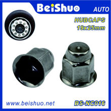 Stainless Steel Round Top Lug Nut Cover for Truck and Trailer Lugs