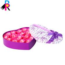 Caja de regalo de empaquetado colorida de alta calidad de la cartulina con la manija