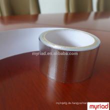Strahlendes Hitzefolienband, reflektierendes und silbernes Überdachungsmaterial Aluminiumfolie Faced Laminierung