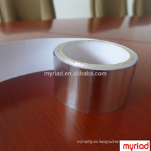 Cinta del papel de aluminio del calor radiante, material de cubierta reflectante y de plata Material laminado de aluminio revestido de la hoja