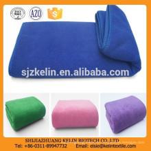 China Preis schließen Haut Wildleder Oberfläche 250gsm einfarbigen Handtuch Mikrofaser Sport