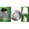 9W Recessed LED Underground Light Stainless Steel (JP82532)