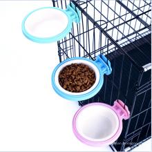 Cage Feeder Bowl für kleines Haustier, Essen Wasser Feeder Bowl Dish mit Bolzen Halter für Haustier Hund Katze Vogel