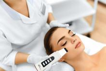 Hot verkopen handige ultrasone Skin Scrubber